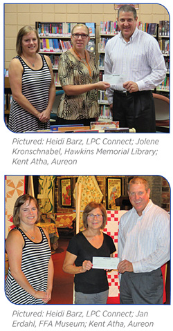 Aureon grant recipients